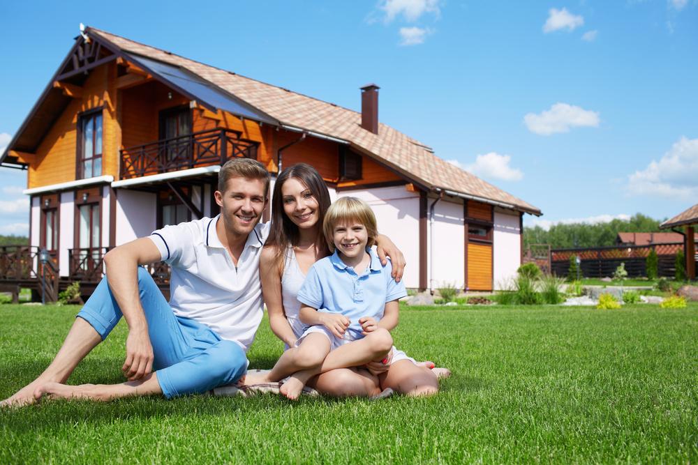 картинки красивых семейных домов своими