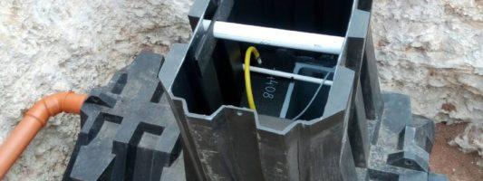 Монтаж системы автономной канализации Ергобокс 6С