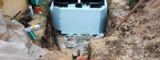 Установка автономной канализации в Давыдовке