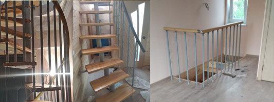 Лестницы в доме. Монтаж лестниц в Крыму. Готовые комплекты