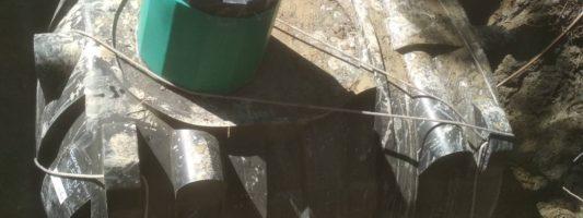 Монтаж Накопителя и Трассы напорной канализации
